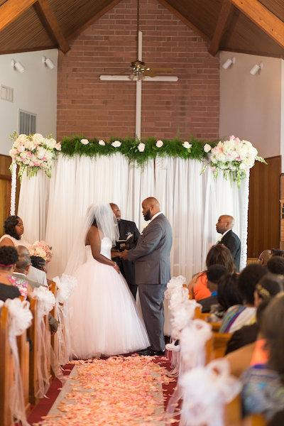 Winston Salem Wedding - Winston Salem wedding planner - North Carolina wedding planner - rose gold wedding - pink wedding