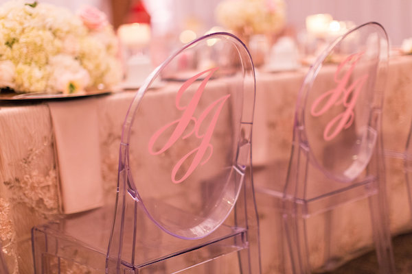 Winston Salem Wedding - Winston Salem wedding planner - North Carolina wedding planner - rose gold wedding - pink wedding - ghost chairs