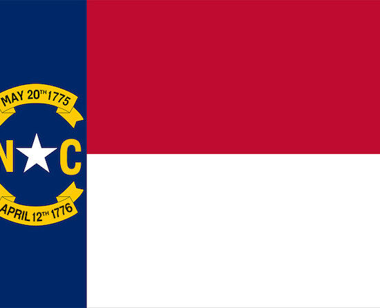 Flag of North Carolina - North Carolina weddings - North Carolina Destination Weddings - North Carolina wedding planner