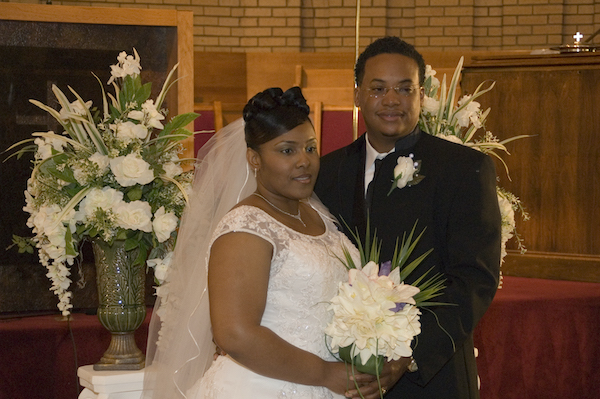 E'Magine Events and Co bride and groom from fifteen years ago
